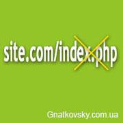 как убрать index.php