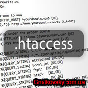 коды .htaccess
