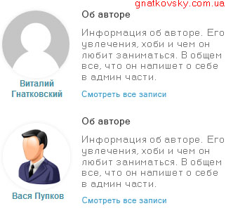 Авторы блога