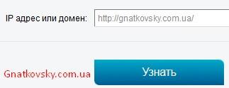 Ввести адрес сайта