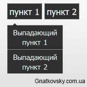 Плавно открывающееся меню с помощью CSS