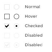 Как задать свои стили для элементов формы, checkbox, radio, file, section, с помощью jQuery Form Styler