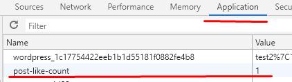 Система лайков или кнопка мне нравится c использованием cookies на WordPress